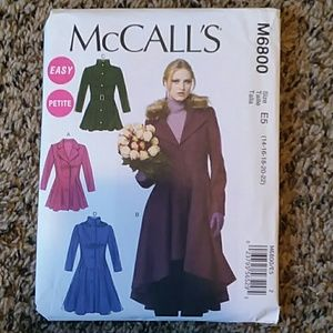 McCall's Women's Coat Sewing Pattern